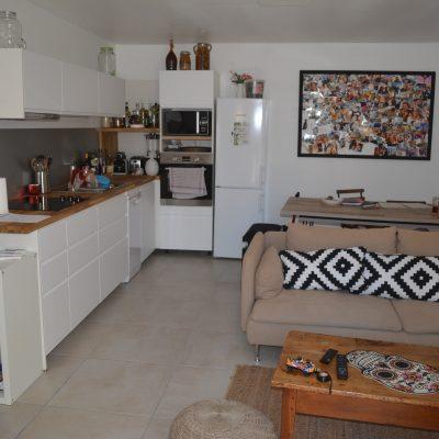 Location T3, Coudoux, salle à manger / cuisine