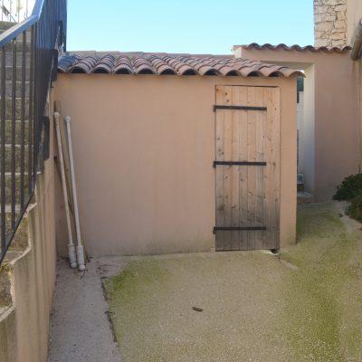 Abris de jardin privé.