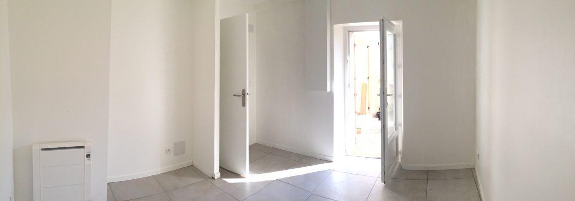 Location T3, Coudoux, salle de bain