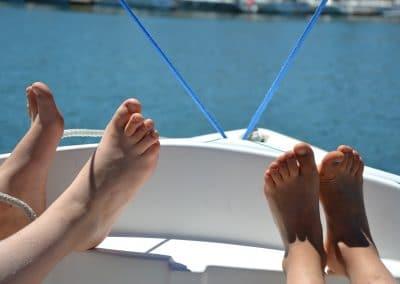 Petits pieds d'été ...